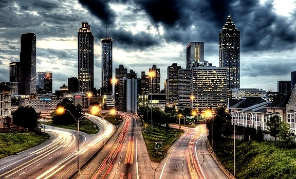 Atlanta - the capital city of Georgia, United States.