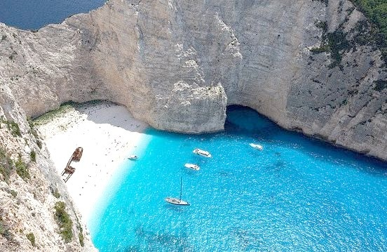 Navagio Beach, or the Shipwreck, is an isolated sandy cove, accessible only by boats, on Zakynthos island and one of the most famous beaches in Greece. It is notable...