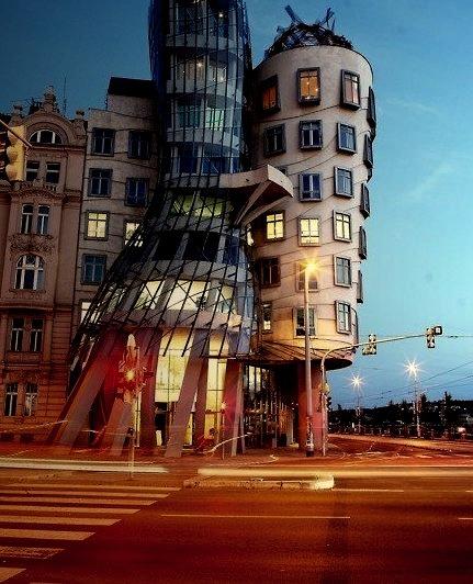 Dancing House, Prague, Czech Republic