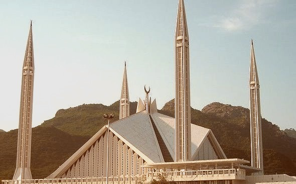 by Sehar Atif Meraj on Flickr.Faisal Mosque is one the largest mosques in the world - Islamabad, the capital of Pakistan.