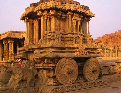 by profmpc on Flickr.The remains of Vijayanagara city, in Hampi village, Karnataka state, India.