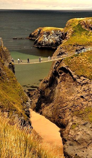 Carrick-a-Rede Rope Bridge, Co. Antrim, Northern Ireland