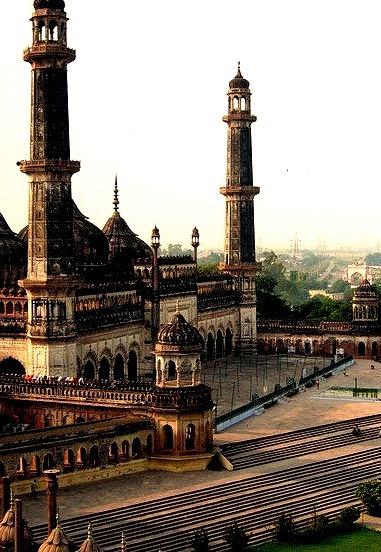Asfi Mosque at Bara Imambara Complex in Lucknow, India